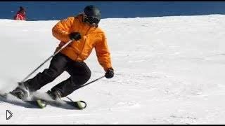 Смотреть онлайн Как вести себя на горнолыжке