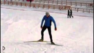 Смотреть онлайн Коньковый ход для лыжников
