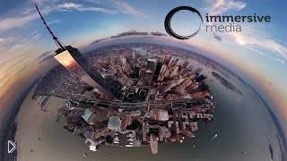 Смотреть онлайн Мир с высоты птичьего полета с обзором в 360°