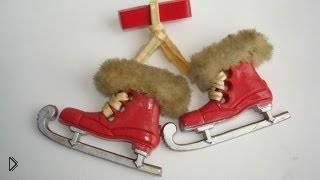 Смотреть онлайн Перебежка назад, катание на коньках