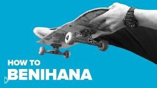 Смотреть онлайн Урок скейтбординга: как сделать бенихана
