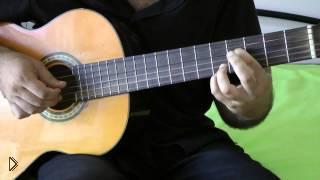 Смотреть онлайн Гитара: учим простую и красивую Сонату Бетховена