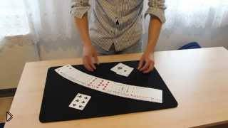 Смотреть онлайн Обучение карточному фокусу