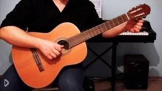 Смотреть онлайн Как настраивать гитару своими руками