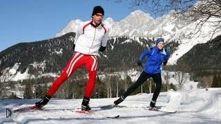Смотреть онлайн Коньковые ходы для лыжников: виды и обучение