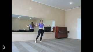 Смотреть онлайн Танец живота: интересная танцевальная связка