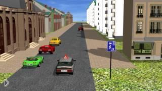 Смотреть онлайн Нюансы движения автомобилей в жилых зонах