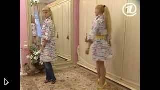 Смотреть онлайн Шьем стильное платье-рубашку на лето