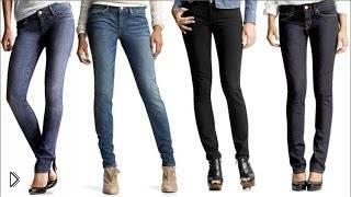 Смотреть онлайн Как ушить джинсы своими руками