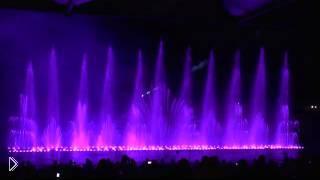 Смотреть онлайн Поющие фонтаны в Протарасе на Кипре