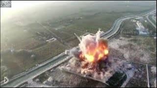 Смотреть онлайн Смертник подрывает себя в автомобиле в Афганистане