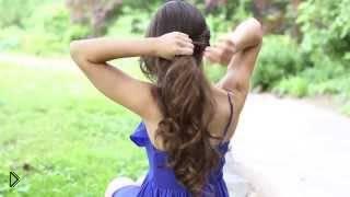Смотреть онлайн Прически для длинных волос своими руками