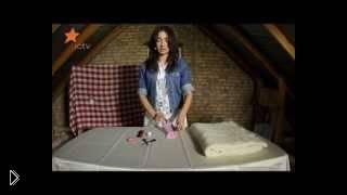Смотреть онлайн Урок шитья простой мягкой игрушки для малыша из носочка