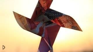 Смотреть онлайн Делаем ветряную вертушку из подручных средств