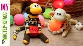 Смотреть онлайн Как сшить обезьянку своими руками