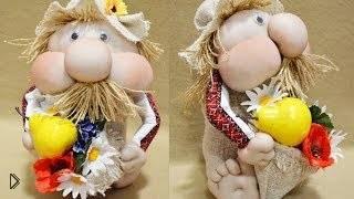 Смотреть онлайн Как сшить игрушку Домовенка своими руками