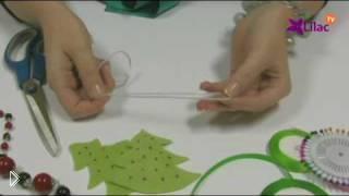 Смотреть онлайн Мягкие игрушки на елку, шьем своими руками
