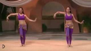 Смотреть онлайн Разминка для рук в танце живота