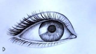 Смотреть онлайн Невероятно реалистичный глаз простым карандашом