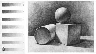 Смотреть онлайн Свет, тени и рефлексы в рисунках карандашом