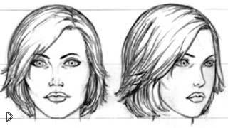 Смотреть онлайн Как нарисовать голову и лицо человека карандашом
