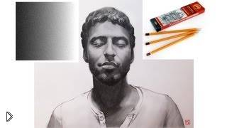 Смотреть онлайн Как правильно штриховать рисунок карандашом