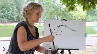 Смотреть онлайн Как нарисовать красивую рыбку гуашью