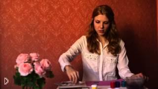 Смотреть онлайн Необычная техника рисования гуашью