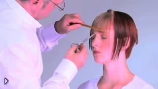 Смотреть онлайн Полезные советы о том, как подстричь челку