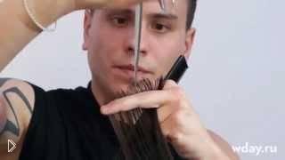 Смотреть онлайн Урок стрижки каскада на длинные волосы и волосы средней длины