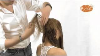 Легкий каскад на длинных прямых волосах - Видео онлайн