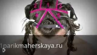 Смотреть онлайн Рваная стрижка на волосы средней длины