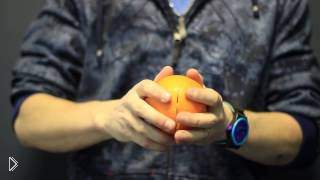 Смотреть онлайн Как сделать свечу из апельсина своими руками
