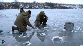 Смотреть онлайн Особенные черты зимней рыбалки на карпа зимой