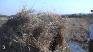 Опыт охоты на гуся, маскируемся в водоеме - Видео онлайн
