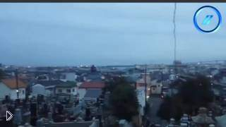 Смотреть онлайн Землетрясение и цунами в Японии 22.11.2016