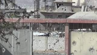 Смотреть онлайн Из такой пушки стреляют в Сирии
