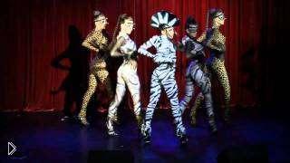 Смотреть онлайн Красивое выступление танцующих девушек по гоу гоу