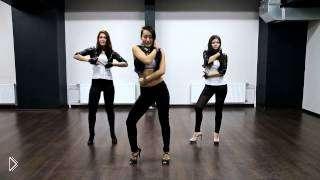 Смотреть онлайн Обучение гоу гоу танца и связкам