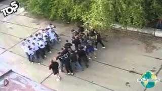 Смотреть онлайн Подборка: Массовые драки преступных группировок