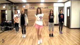 Смотреть онлайн Как научиться танцевать как корейские девушки урок