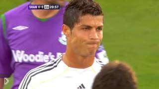 Смотреть онлайн Самая первая игра Криштиану Роналду за Реал Мадрид