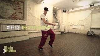 Смотреть онлайн Урок движениям ног в танце Хип Хоп