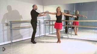Смотреть онлайн С чего начать обучение танцу Ча-Ча-Ча урок