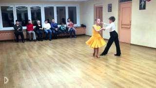 Смотреть онлайн Обучение детей бальным танцам Ча-Ча-Ча