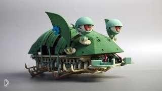 Смотреть онлайн Изобретение: Робот в виде маленького дракона