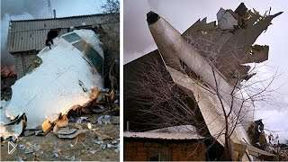 Смотреть онлайн В Киргизии упал Боинг 747