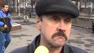 Смотреть онлайн У пьяницы взяли интервью на улице