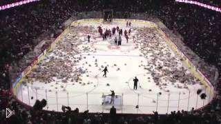 Смотреть онлайн Сумасшедший момент в хоккее