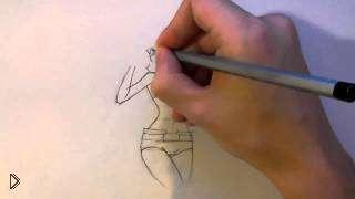 Смотреть онлайн Как рисовать тело аниме девушки в полный рост